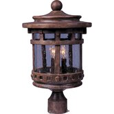 Santa Barbara Vx 3 Light Outdoor Pole/Post Mount Lantern