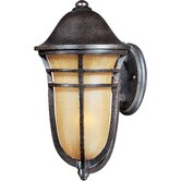 Westport Vx 1 Light Outdoor Wall Light with Mocha Glass