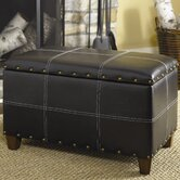 Hidden Treasures Trunk in Distressed Black
