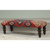 Hidden Treasures Kilim Rug Bench