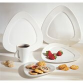 White Triangle Dinnerware Set