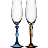 Two Of Us Flute Glass(Set Of 2)