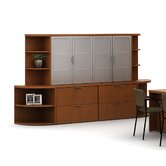 Unity Executive Wood Freestanding Lateral File