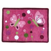 Raspberry Swirl Kids Rug