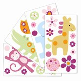 Lollipop Jungle Wall Appliques