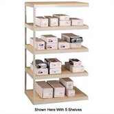 Double Rivet Units (without Center Support) - 5 Shelf Add-On Unit