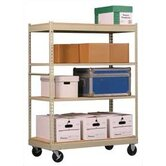 Inventory Carts with Particle Board Deck
