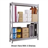 Wide Span Shelving Basic Units - With 2 Steel Shelves