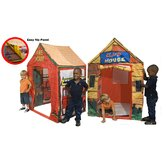 2 in 1 Fire Station / Club House Play Tent