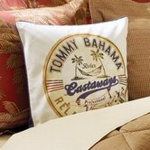 Orange Cay Castaways Decorative Pillow