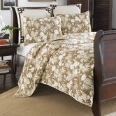 Plantation Floral Cotton Quilt Set