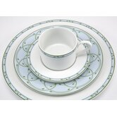 Perennial Green 5 Piece Place Setting