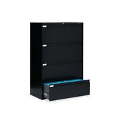 "36"" W Four-Drawer Lateral File"