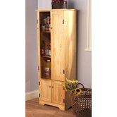 Extra Tall Pine Cabinet in Honey