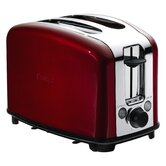 Traditional Toaster in Red