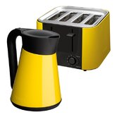 Daytona Kettle and 4 Slice Toaster Set in Yellow
