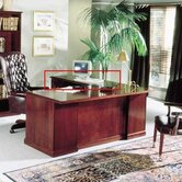 "Legacy 48""W Desk Height Veneer Return"