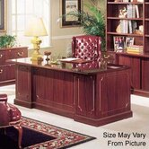 "Bedford 60"" Double Pedestal Executive Desk"