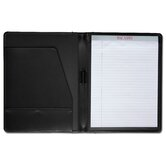 Leather Portfolios Standard Top-Grain Padfolio in Black