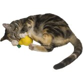 Cat 'n Around Lemon Refillable Catnip Toy