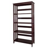 4 Tier Bookcase in Espresso