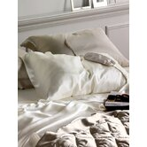 Lily Sheet Set in Eggshell
