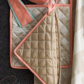 Trafalgar Quilted Pot Holder in Putty