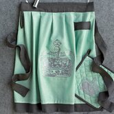 Victoria Half Apron in Mint
