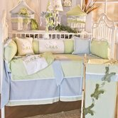 Sammy the Frog 4 Piece Crib Bedding Set