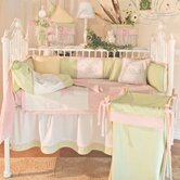 Froggy Pink Crib Bedding Collection