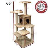 66&quot; Casita Fur Cat Tree
