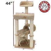 44&quot; Casita Fur Cat Tree