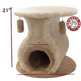 "21"" Kitty Cat Hacienda Cat Tree"