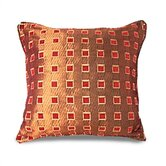 Chenille Taffeta Square Design Pillow Shell