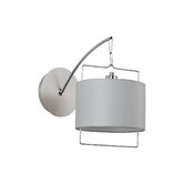 ShPassion  Wall Sconce in Satin Nickel/Polished Chrome