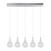 Larmes 5 Light Kitchen Island Pendant