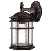 "Barlow 11.5"" H Outdoor Wall Lantern in Winchester"