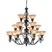 Atlantis 18 Light Chandelier