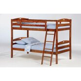 Zest Sesame Twin over Twin Bunk Bed