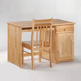 Spices Clove Wood Student Desk and Chair Set
