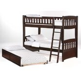Spices Ginger Twin over Full Bunk Bed with Trundle