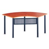 Encounter: 67&quot; x 24&quot; Crescent Meeting/Training Table
