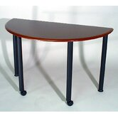 Encounter: 48&quot; x 24&quot; Half Round Meeting/Training Table