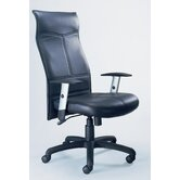 Mercado Silhouette High-Back Office Chair with Arms