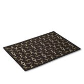 Midnight Black Dog Mat