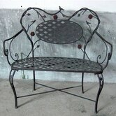 Metal Garden Bench