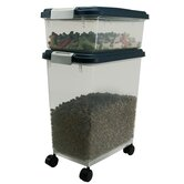Airtight Pet Food Storage Container in Navy