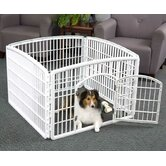 4-Panel Indoor/Outdoor Pet Pen