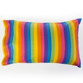 Colorful Rainbow Print Pillowcase Set