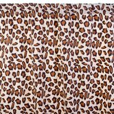 Leopard Cotton Curtain Panel